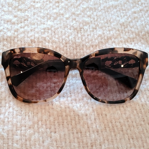 Coach Accessories - Coach sunglasses with leather detail
